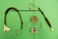 SKODA OCTAVIA WINDOW REGULATOR REPAIR KIT REAR RIGHT - 220994653667